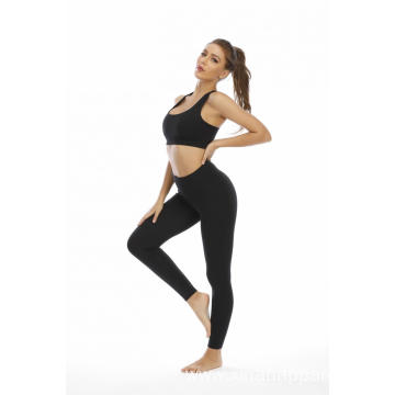 Custom Two Piece Tight Sportswear Yoga Set Suit